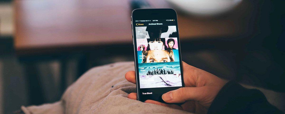 vídeos no celular
