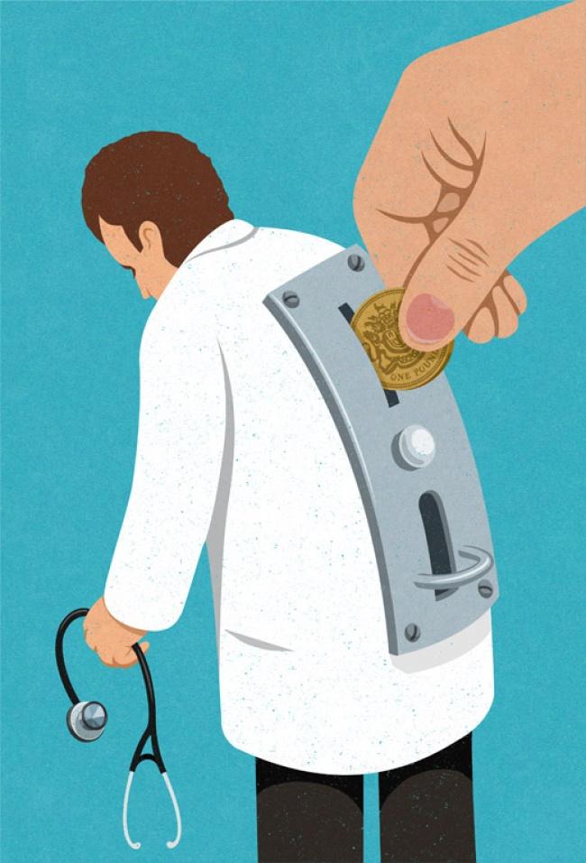 medicina é cara