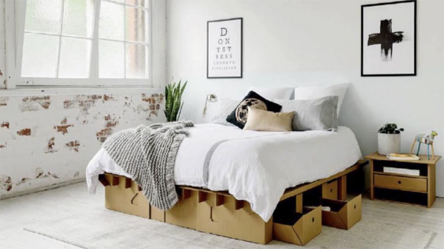 cama-de-papelao