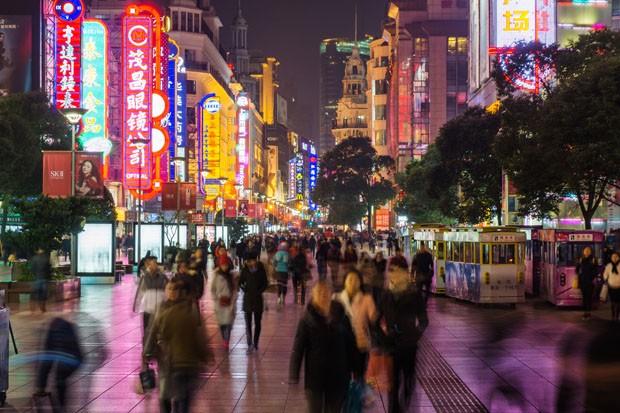 Rua de Nanquim, Xangai