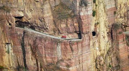 Estrada-de-Túnel-Guoliang