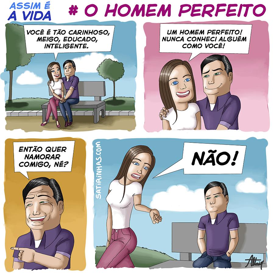 Quadrinho em parceria com o Satirinhas.
