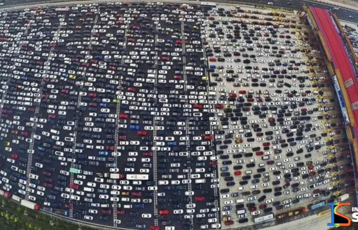 O maior congestionamentos de todos os tempos