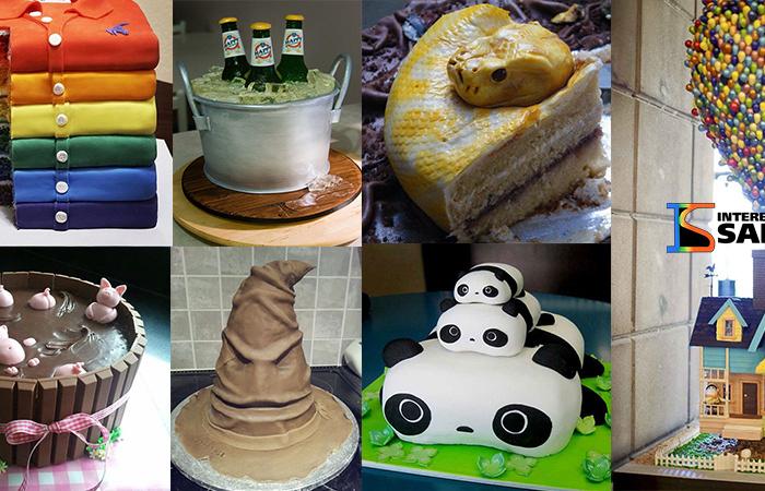 Arte em bolos. Veja essas lindas imagens!