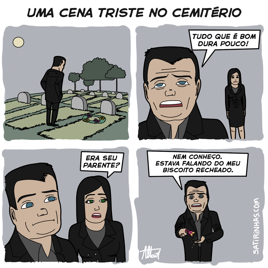 Em parceria com o Satirinhas.