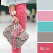 1. Calça rosa