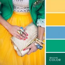 16. Amarelo e verde