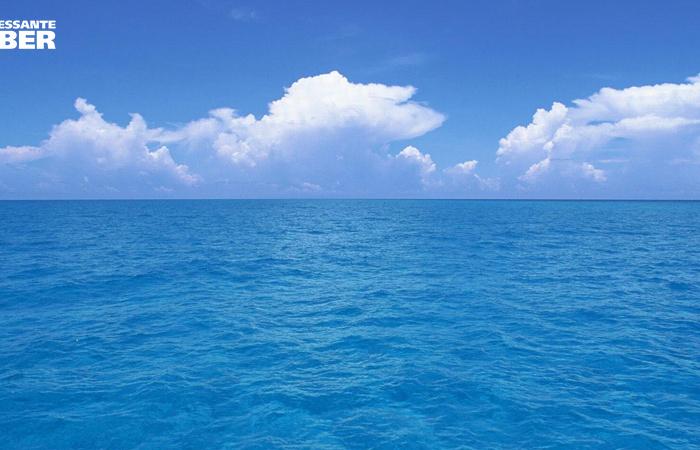 Por que o mar é azul?