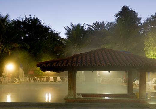Caldas Novas possui mais de 200 piscinas termais. Foto: Secretaria de Turismo de Caldas Novas.