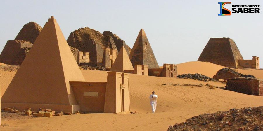 O país com mais pirâmides do mundo não é o Egito!
