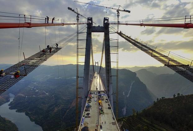 a segunda ponte mais alta do mundo