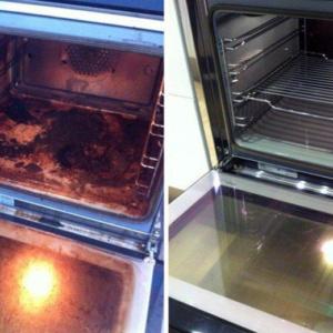 Quer deixar seu forno brilhando? Veja este truque super fácil!
