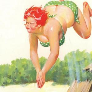 Conheça Hilda, a pin-up plus size dos anos 50