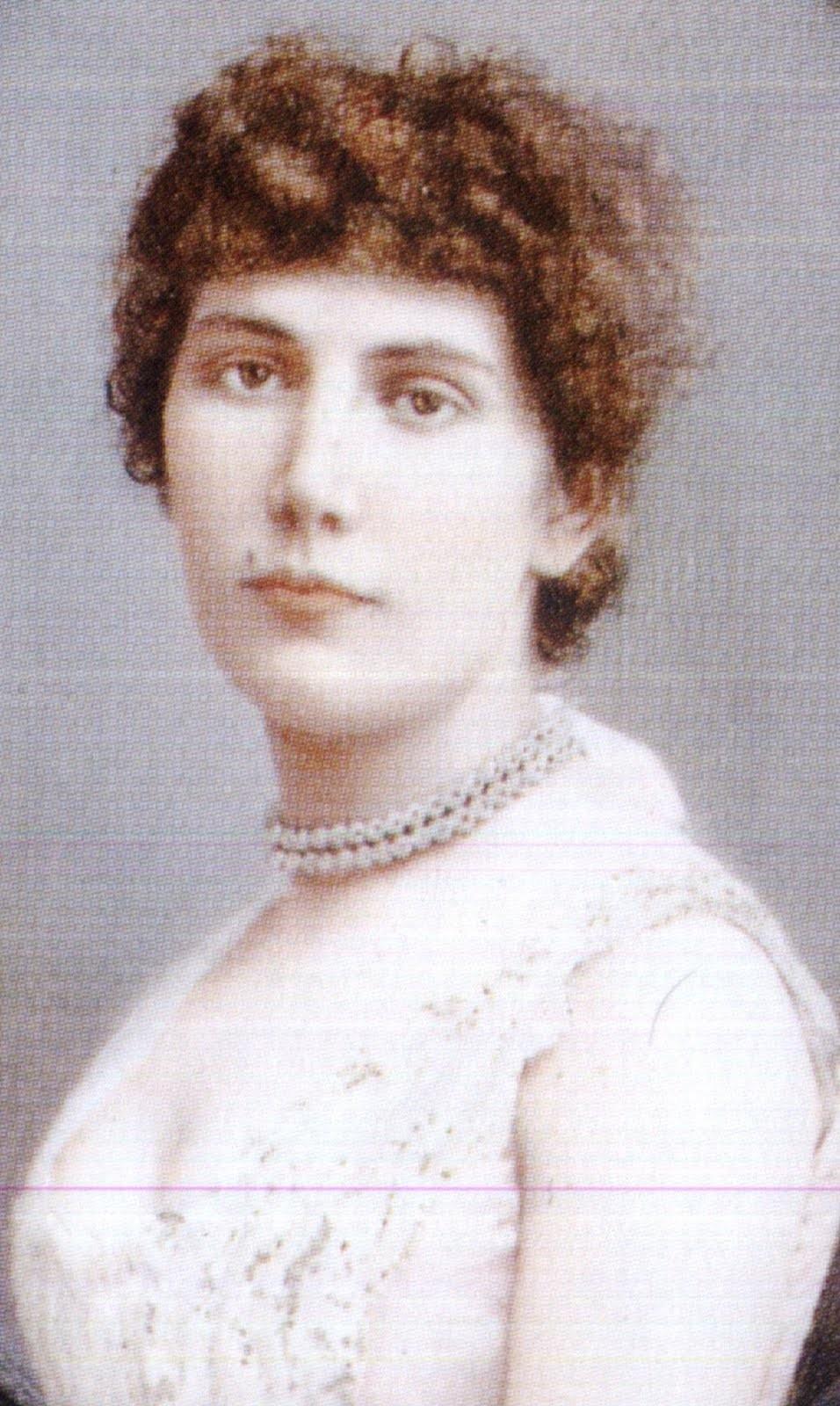 """Maria Augusta, a """"loira do banheiro"""" original (Foto: Arquivo da família)"""