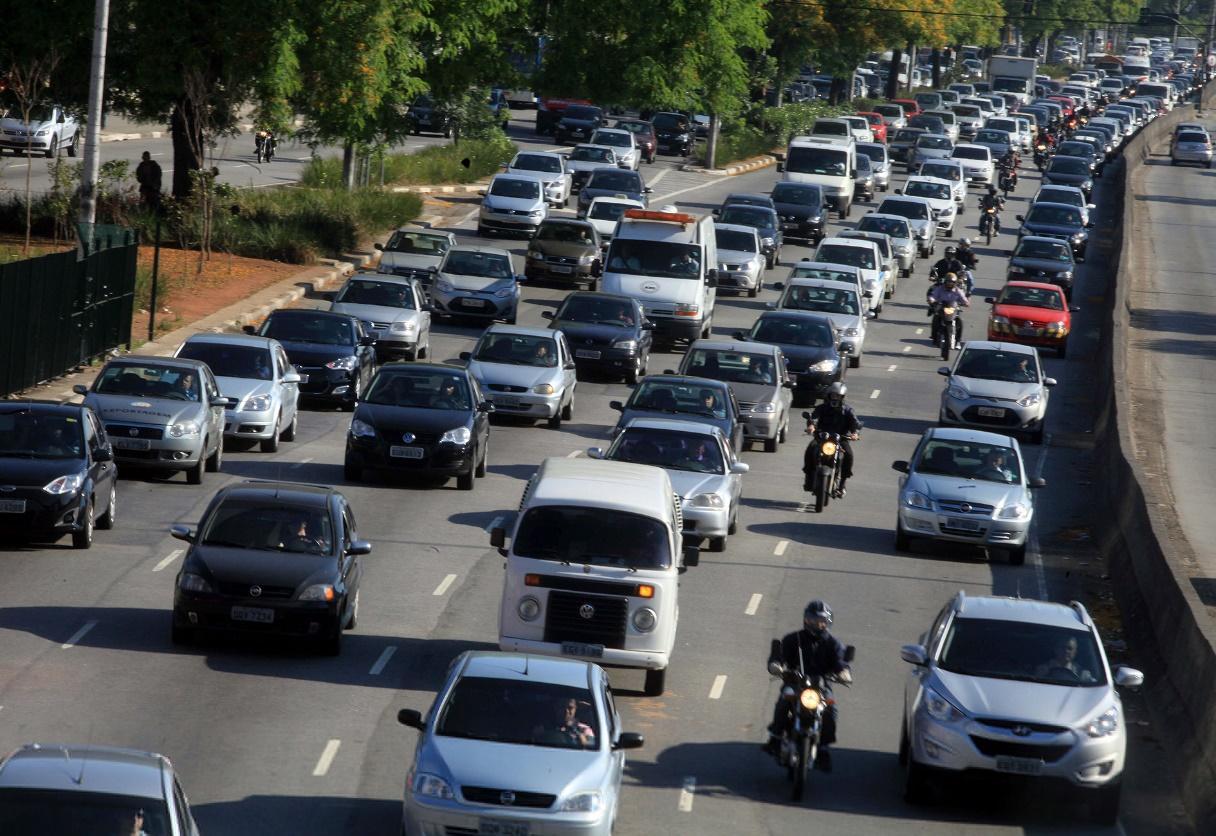 número de automóveis