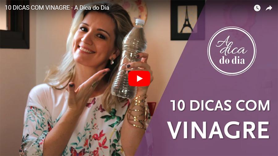 10 utilidades do vinagre para facilitar a sua vida