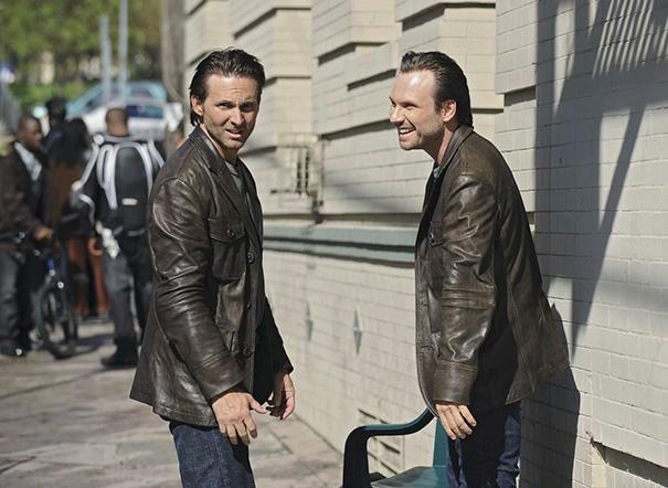 Christian Slater e Marc Shaffer em Os Esquecidos