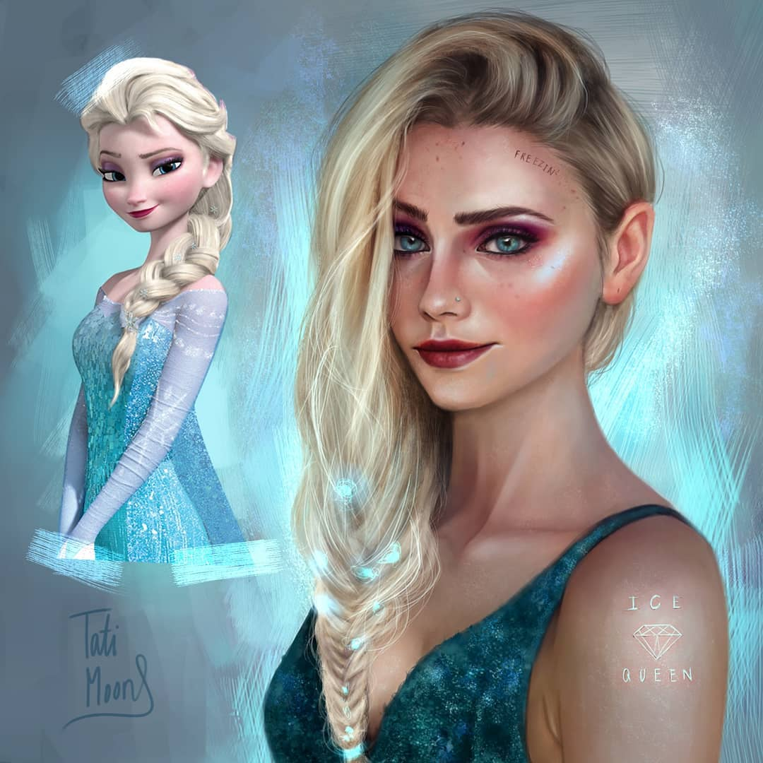 Elsa, em Frozen