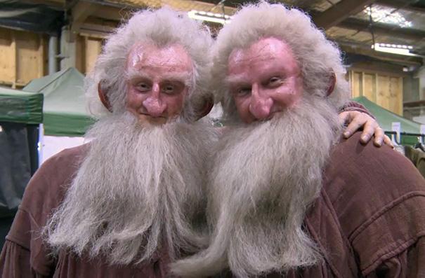 Ken Scott e Peter Dillon em O Hobbit
