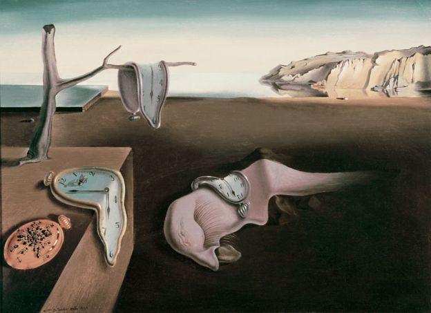 O tempo Salvador Dali