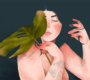 A força das mulheres e a delicadeza das flores nas ilustrações de Priscila Barbosa