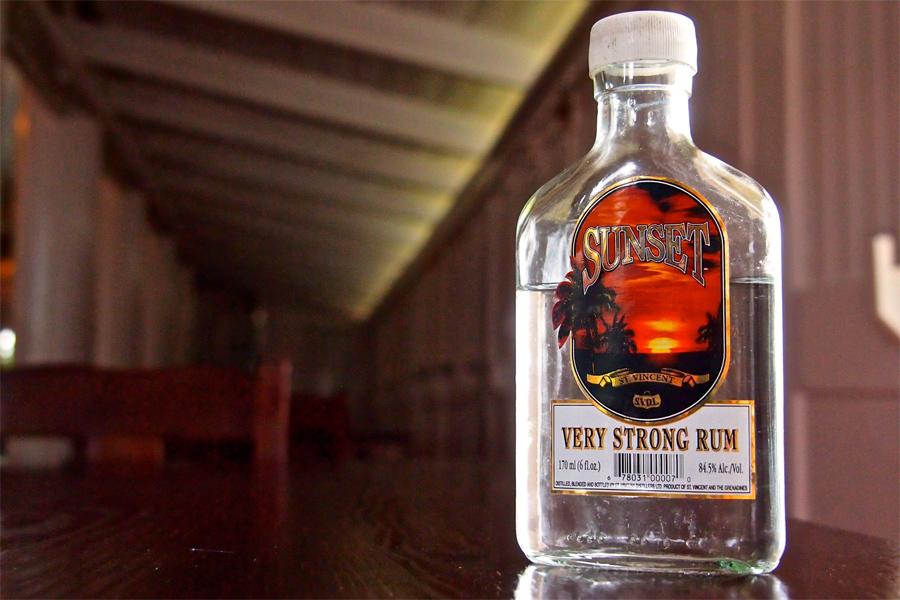 Sunset-rum