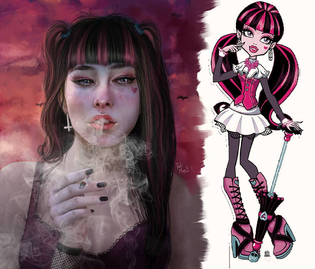 Vampira, em Monster Hi
