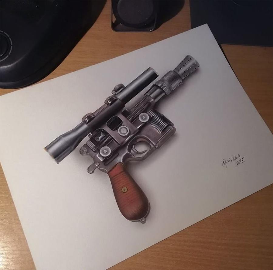 a-arma-de-Han-Solo
