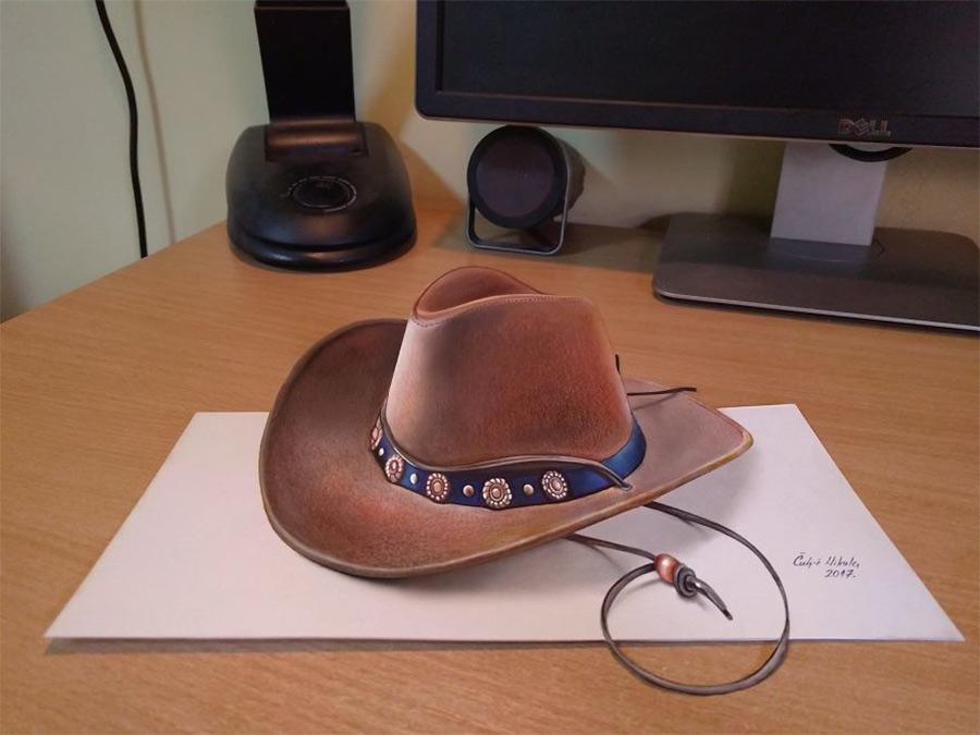 chapéu-de-cowboy