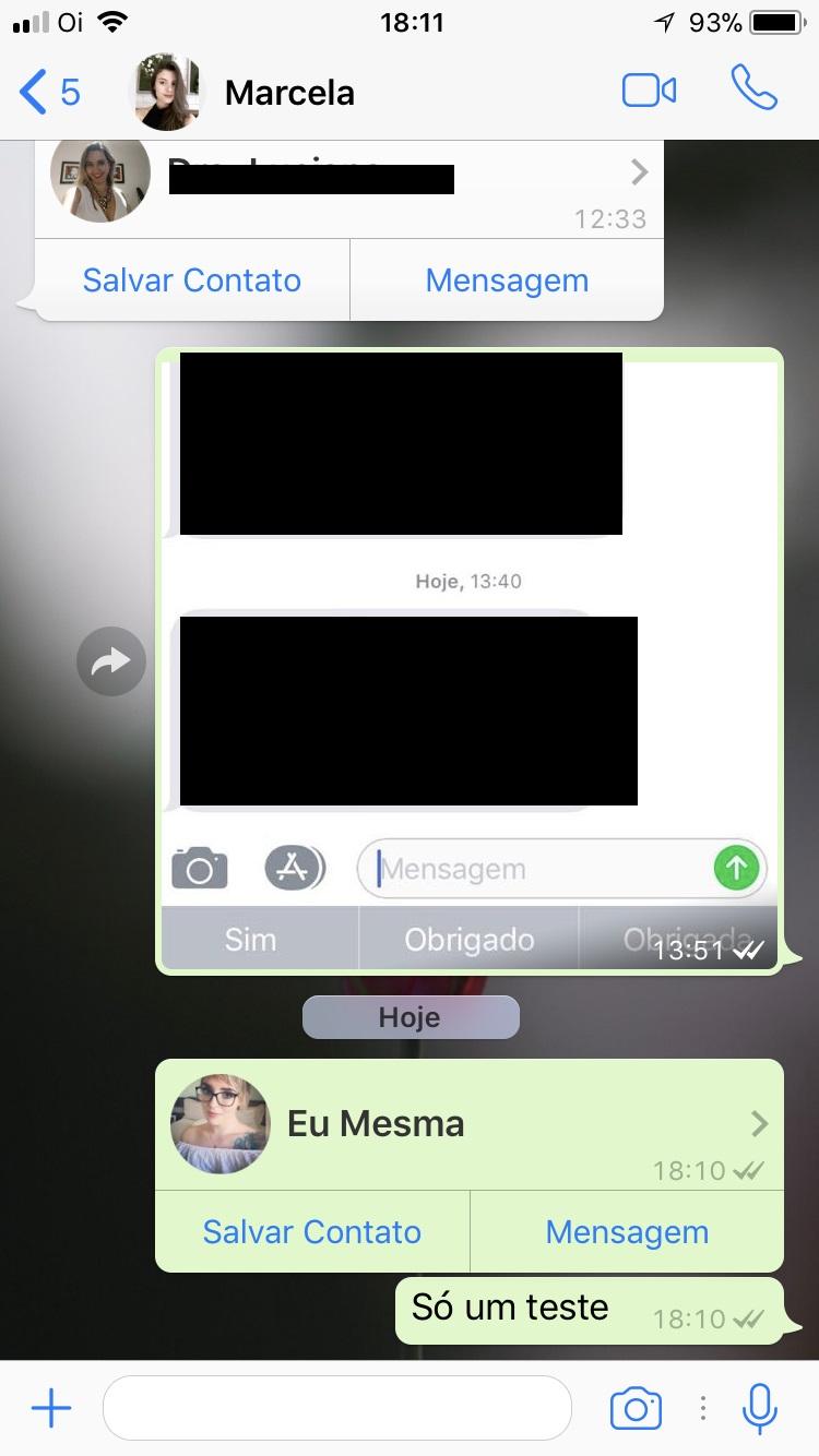 como falar comigo no whatsapp