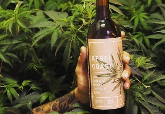 """Conheça o primeiro vinho feito de Cannabis, sem álcool, mas que promete te deixar """"alto"""" e sem ressaca"""