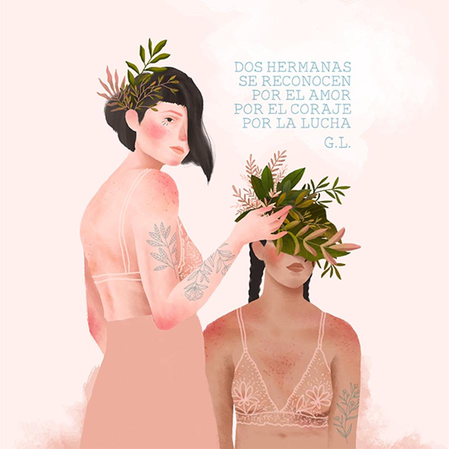 ilustração-duas-irmãs-unidas