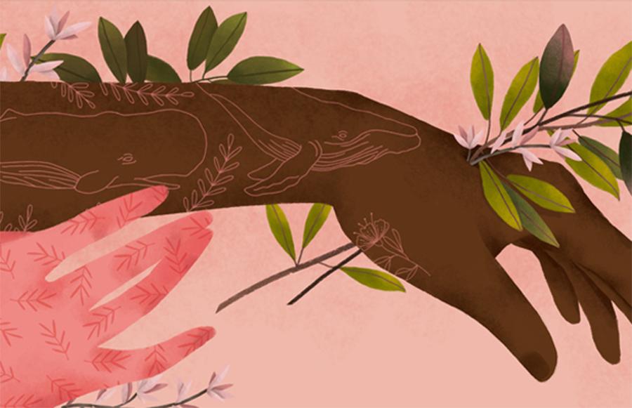 mulheres-e-plantas-ilustração