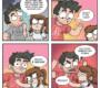 6 quadrinhos divertidos de um casal que se ama