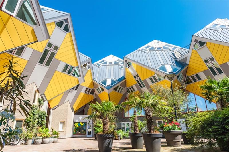 Casas cubo, na Holanda