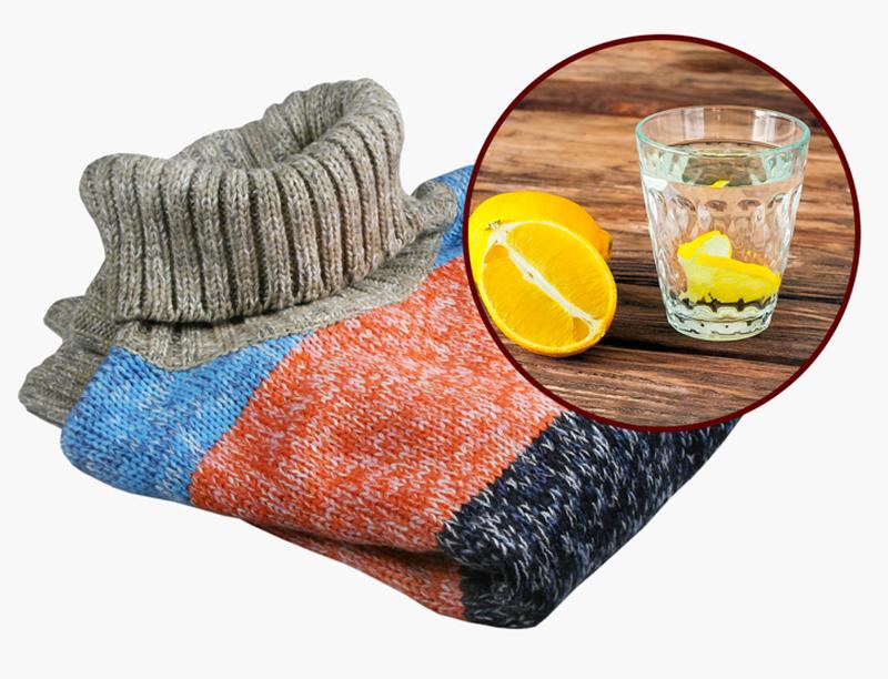 Eliminando o cheiro de suor na roupa