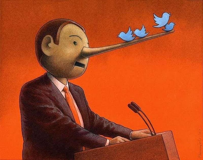 Promessas políticas no Twitter