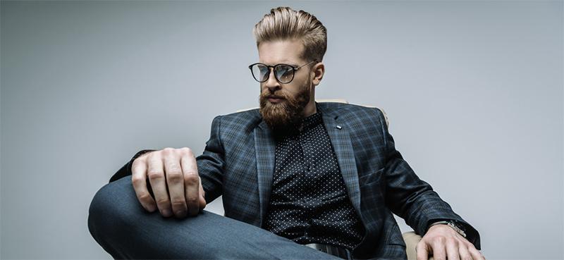 barbudo estiloso