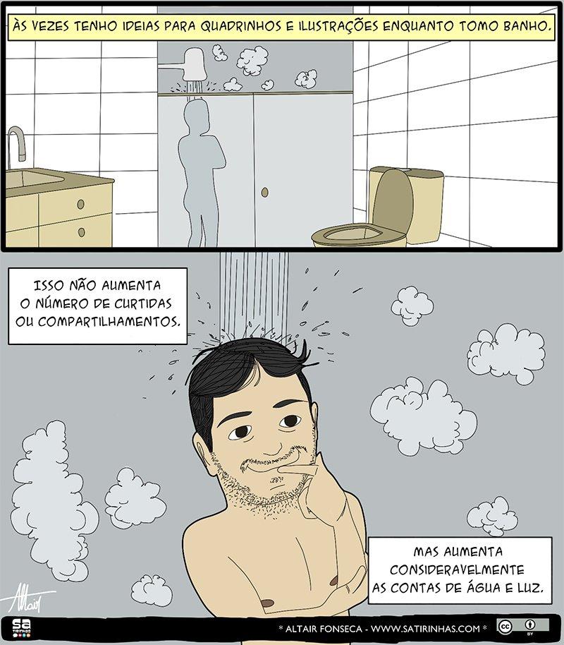 Pensamentos de chuveiro