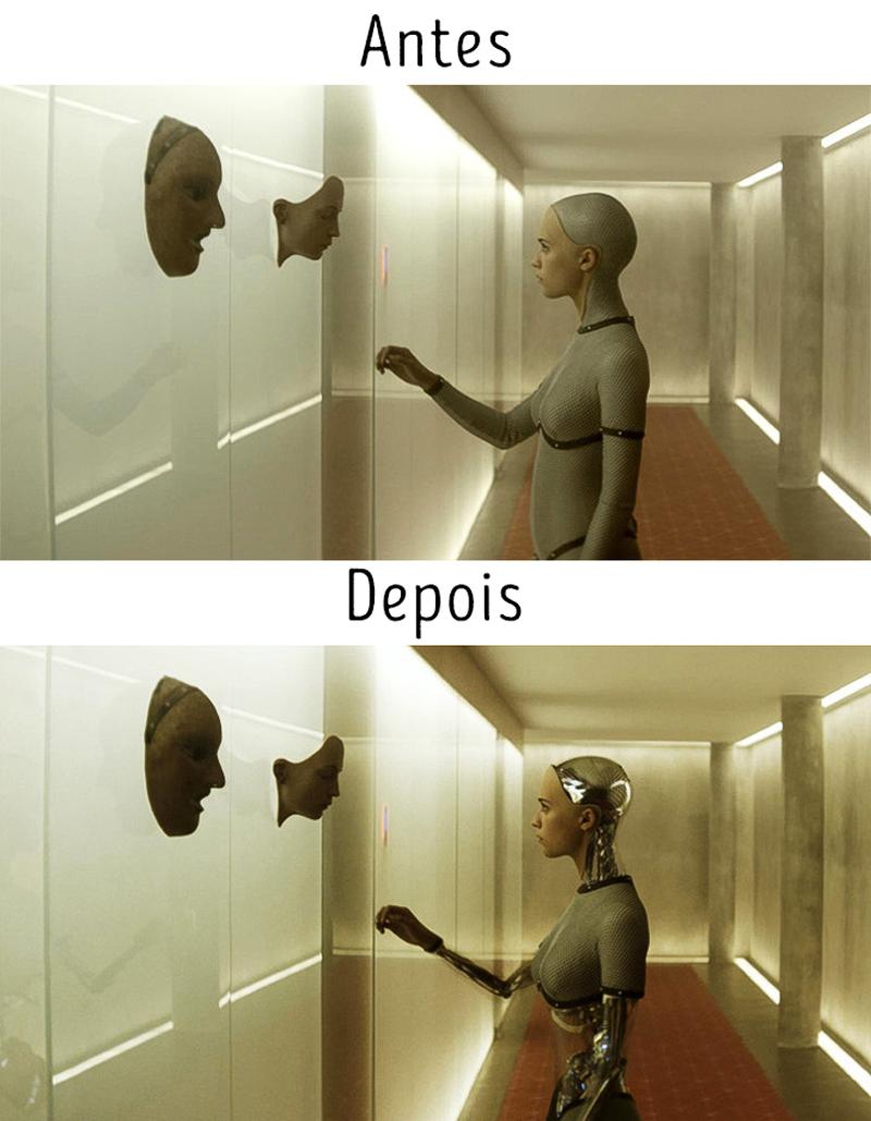 Sem os efeitos especiais, essas cenas não teriam a menor graça