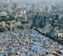 A diferença entre ricos e pobres em fotos aéreas