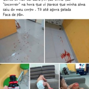 Uma assustadora e divertida brincadeira de criança