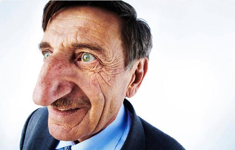 O maior nariz do mundo