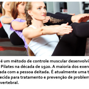 Pilates e os seus benefícios para a saúde
