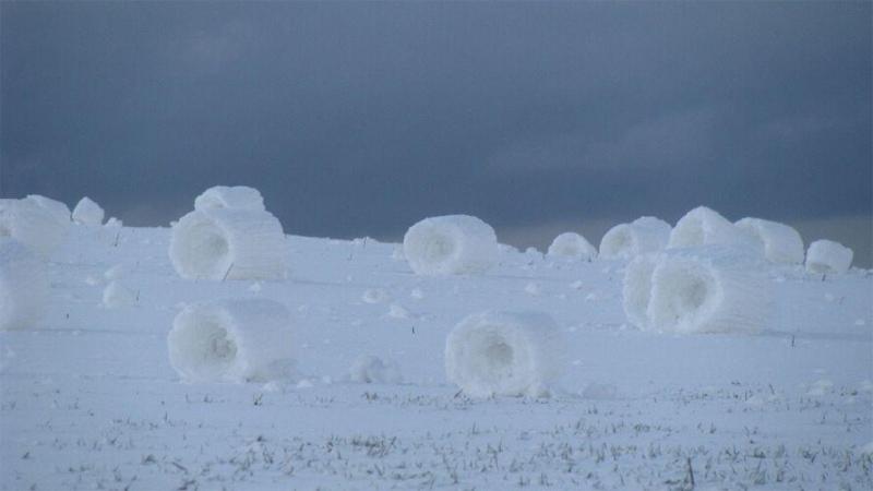 Rolo de neve (snowrollers)