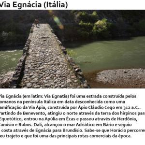 O que foi a Via Egnácia? Algumas curiosidades