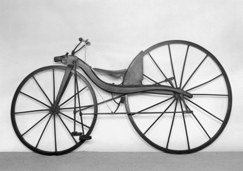 a primeira bicicleta