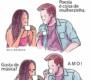 Grandes conflitos internos em quadrinhos divertidos