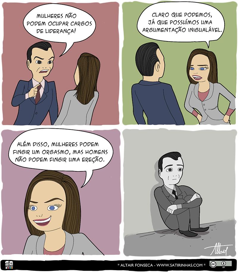 A força das mulheres e outros quadrinhos engraçados