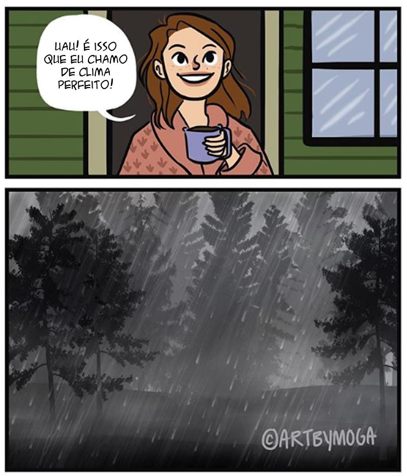 dias chuvosos